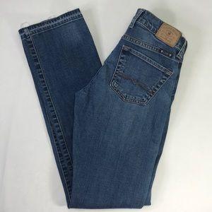 Lucky Brand Sienna Tomboy Straight Leg Jeans